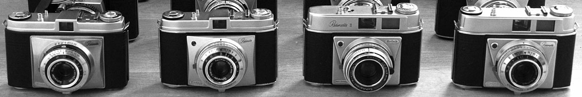 Collection Of Old Film Cameras