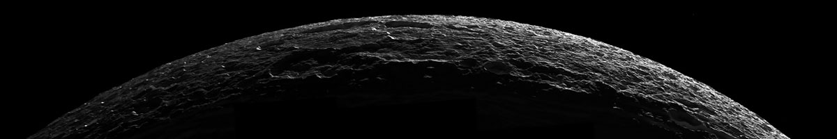 Dione - A Moon Of Saturn